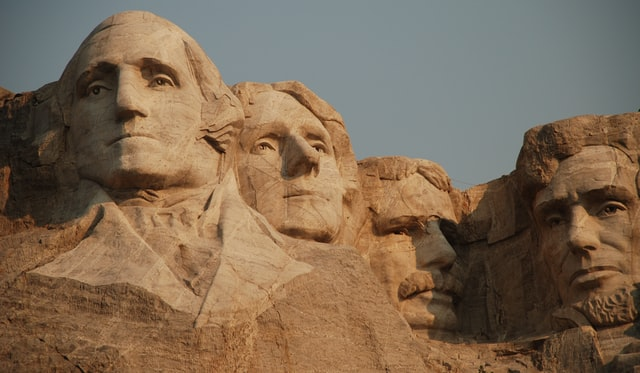 Every day is Presidents Day when you're a rock