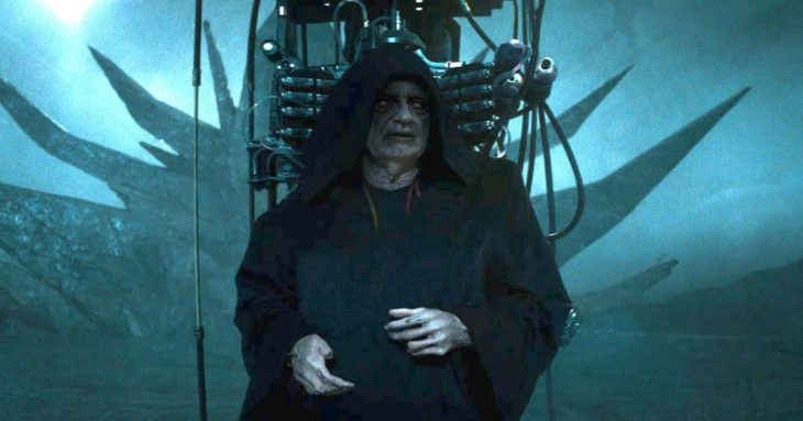 Emperor Palpatine in The Rise of Skywalker
