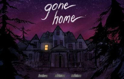Gone Home start screen