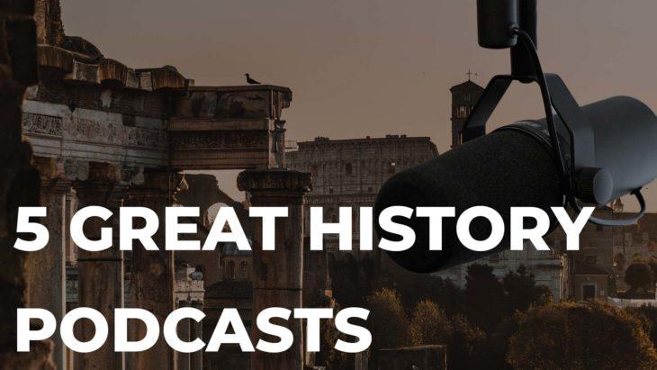 history podcast header